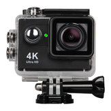 XANES H9 4K WiFi Sports Cámara 173 ° Gran angular 2.0 LCD HD Impermeable a 131FT con Control remoto