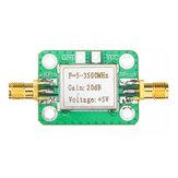 Original 0.1-2000MHz RF Amplifier Wideband High Gain 30dB Low Noise Amplifier LNA Broadband Module Receiver