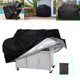 Large Size Outdoor Camping BBQ Grill Covers Heavy Duty Waterproof Barbecue Cover Picnic Accessories