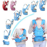 7 in 1 Adjustable Baby Infant Sling Carrier Breathable Ergonomic Wrap Backpack Baby Carriers
