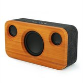 ARCHEER A320S 25W TWS Bamboo Wood bluetooth Bass Stereo Speaker