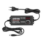 Excellway® 9-24V 3A 72W AC/DC Adapter Switching Power Supply Adjustable Power Adapter Display EU Plug