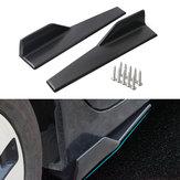 45cm Car Black Side Skirts Rocker Spiltters Winglet Wings Decorations for BMW E90 E91 E92 E93 E46 F80 30 F31 F32