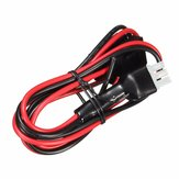 30A 1M Fuse Short Wave Power Supply Cord Cable for Yaesu FT-857D FT-897D IC-725A