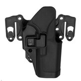 Original Left Right Waist Hand Belt Holster with Molle Platform for GLOCK 17 18 19 22 23 31