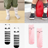 0 to 4 Years Toddlers Kids Baby Girls Winter Warm Dress Lovely Knee High Combed Cotton Socks Hosiery Stocking