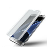 Soft PET 3D Curved Edge Clear Film Film Protector pour Samsung Galaxy S7 Edge