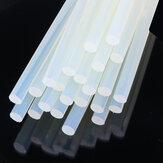 10Pcs 11mm x 19cm Claro Melt Glue Adhesivo Sticks adhesivo ambiental tira