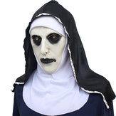 Original The Nun Horror Mask Hood Valak Halloween Prop Cosplay Costumes Prop Party