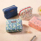 Sweet Floral Cosmetic Bag Travel Organizer Portable Beauty Pouch Wash Bag