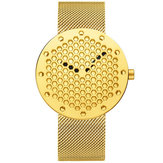 CRRJU 2143 Creative Hollow Dial Design Quart Watch
