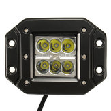 1pcs 5inch 18W POD LED Work Lights Spot Beam Driving Lamp for Off Road Truck 4WD SUV