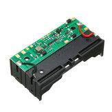 5V 2 * 18650 litio Batería UPS de carga de protección ininterrumpida integrado módulo de refuerzo de placa con Batería titular