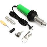1600W Plastic Welding Torch Welding Hot Air Gun + Tip Nozzle + Roller