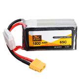 ZOP Power 14,8V 1800mAh 65C 4S Lipo Batteri XT60 Plug
