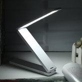 Lampe de Lecture Lampe de Table Lampe de Chevet Lampe de Nuit de 16 LED Pliable Réglable Rechargeable Portable