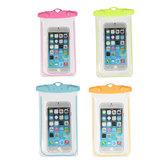Universele Waterdichte Fluorescerende Onder Water Tas Case Cover Voor Mobiele Telefoons