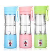 380ml Mini USB Rechargeable Electric Fruit Juice Smoothie Mixer Maker Blender Juicer Bottle Shaker