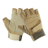 Tactical Military Gloves Men Spring Autumn Army SWAT Half Finger Outdoor Cycling Motorcycle