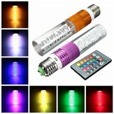 3W E27 RGB 16 Color Changing Home Party LED Crystal Light Bulb Lamp with Remote Control