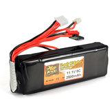 ZOP Power 11.1V 2500mAh 3S 8C Lipo Battery For RC Transmitter
