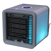 Original 8 W 12 V USB Mini Summer Arctic Space Cooler Equipo de Aire Acondicionado de Aire Acondicionado Home Office LED