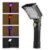 XANES 190B 16x COB 4Colors 4Modes  180° Adjustable Head Magnetic Tail USB LED Flashlight