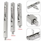 Slide Lock 304 Stainless Steel Flush Latch Bolt for Home Gate Door Security Guard