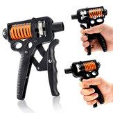 10KG-50KG Carbon Steel Adjustable Hand Grip Strengthener Trainer Hand Power Exerciser Gripper