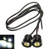 9W LED Eagle Eye White Daytime Running DRL Reverse Backup Light 12V Motorcycle Car