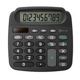Digoo DG-MC1 True Solar Power Energy Electronic Mini Calculator With High Definition LCD