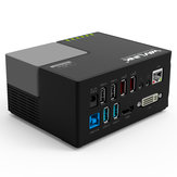 Wavlink WL-UG39DK3 Multifunctional USB 3.0 to DVI HDMI Audio RJ45 Port USB Hub Docking Station