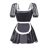 Women Sexy Temptation Maid Costume