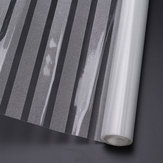200×45cm Frost Window Film Static Striped Glass Self Adhesive Film Decoration
