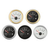9~32V 52MM IP67 Tank Fuel Level Gauge Indicator 5 Types 316L Stainless Steel Vehicle Boat