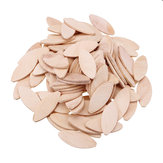 HILDA 100pcs No. 0#/10#/20# Assorted Wood Biscuits for Tenon Machine Woodworking Biscuit Jointer