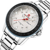 NAVIFORCE 9109 Calendar Men Wrist Watch Business Style Stainless Steel Quartz Watch