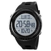 SKMEI 1310 montre numérique de natation sport mode rétro-éclairage LED hommes montre-bracelet