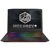 Original MECHREVO Deep Sea Titan X2 Gaming Laptop 15.6 inch i7-8750H 8GB DDR4 128GB SSD 1TB HDD GTX1060 6G