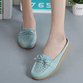 Original US Size 5-12 Women Casual Soft Hollow Flats Slippers