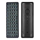 iPazzport KP-810-73B bluetooth Backlight Mini Wireless Keyboard for Xiaomi 4K Mi Box Remote Control