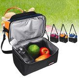 6.7LPicnicBolsaImpermeableLunchShoulder Bolsa Portable Dual Compartment cámping Thermal Bolsa Ice Pack