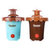 Chocolate Fondue Machine Fountain 2 Tiers Mini Maker Waterfall Melting Machine