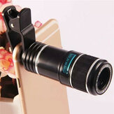 12X Universal Telephoto Lens Mobile Phone Optical Zoom Telescope Camera For Iphone Samsung