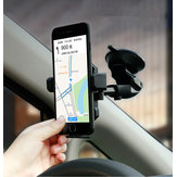 Baseus 360 Degree Rotation Suction Windshield Car Mount Dashboard Phone Holder Stand for Smart Phone