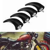 Original 4pcs Front Fender Horns Decoration For Universal Motorcycle Chopper Bobber Touring Cafe Racer Custom