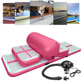 5pcs Gymnastique gonflable Pratique Air Track Floor Tumbling Pad Exercice de formation Mat Set