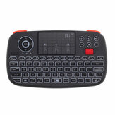 RII RT726 Bluetooth 2.4G souris sans fil Air Mouse Mini clavier Touchpad Airmouse avec molette de défilement
