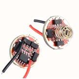 Convoy Linterna Controlador Nuevo Firmware 7135x3 / 7135x4 / 7135x6 / 7135x8 17mm Linterna Accesorios