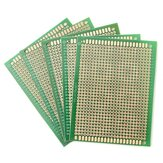 5Pcs PCB DIY Soldering Copper Prototype Printed Circuit Board 70mm x 90mm